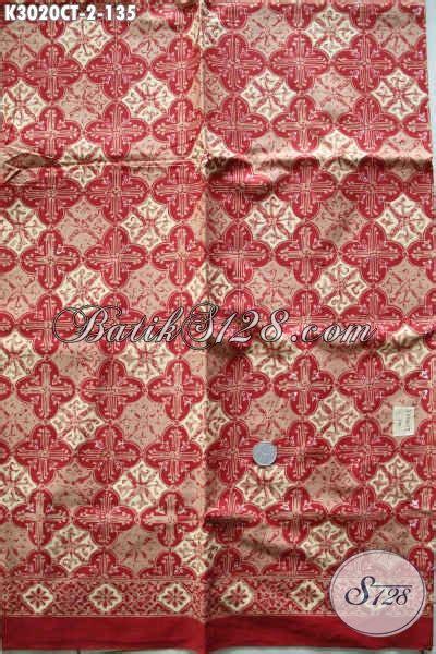 Kain Batik Halus Cap Garutan Jawa Barat Motif Ceplokan batik kain jawa tengah motif terbaru batik halus proses cap tulis nan istimewa pas banget