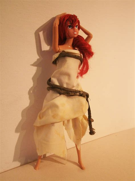 doll treatment 1 by redvideo on deviantart ariel doll ooak by lulemee on deviantart