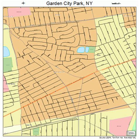 Garden City Garden City Park New York Map 3628189