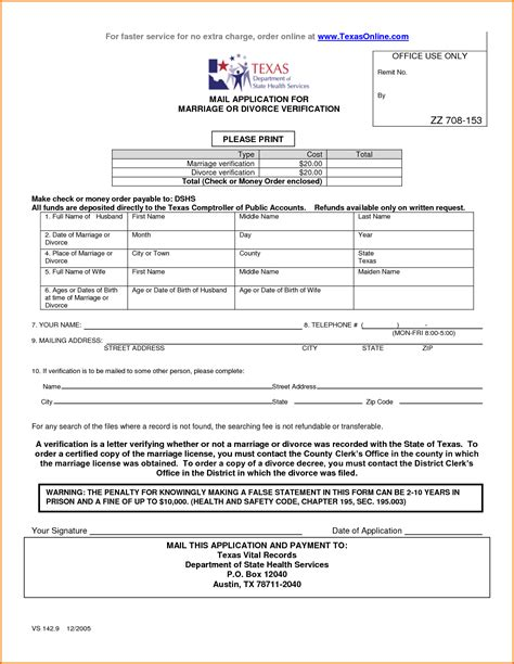 How To Make Divorce Papers - 5 free divorce papers in divorce document