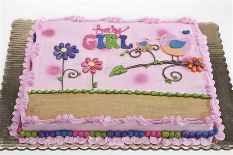 Baby Shower Sheet Cake Ideas by Sheet Cake Baby Shower Girl 001 Oteri S Italian Bakery