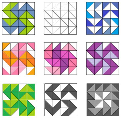 304 Best M Puzzle Images On Pinterest Puzzles Autism And Educational Games Triangulations Template Quilt Pattern