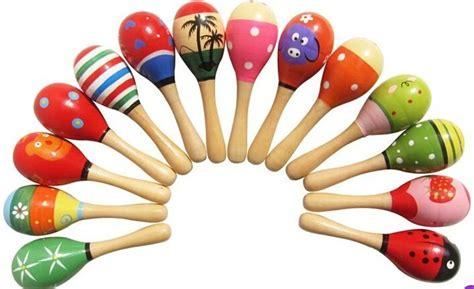 Marakas Kayu Mainan Musik Bayi 12 contoh alat musik ritmis modern dan tradisional