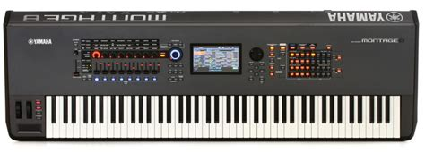 Keyboard Yamaha Montage 8 Yamaha Montage 8 Keyboard Synthesizer Demo By Sweetwater