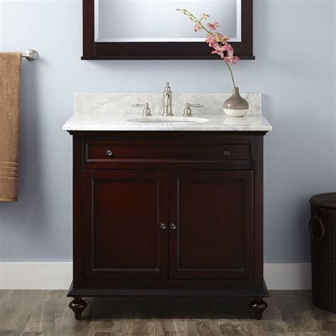 36 quot merlot vanity transitional bathroom vanities and sink