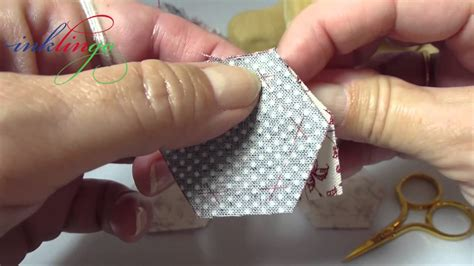 hand quilting tutorial youtube how to hand sew hexagons youtube