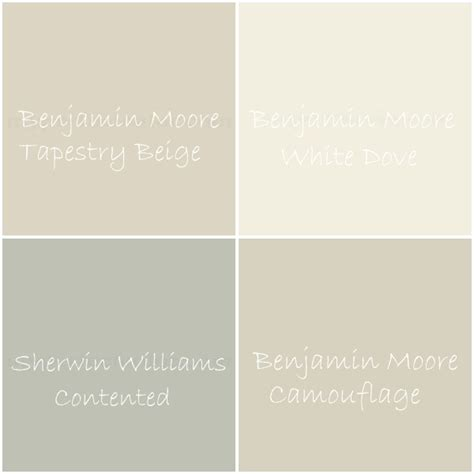 white beige paint color