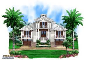 Old Florida House Plans by Marsh Harbour Olde Florida House Plan Weber Design Group