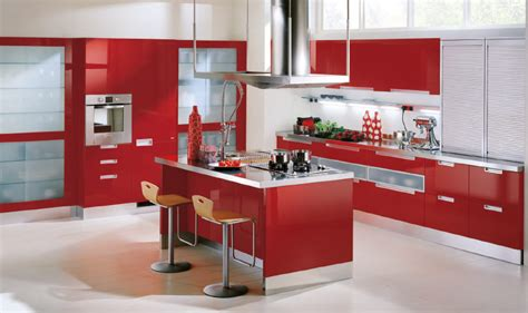 red kitchen furniture ikea red kitchen cabinets home designs project