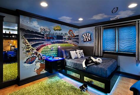 cool boy rooms cool boys room paint ideas for colorful and brilliant interiors