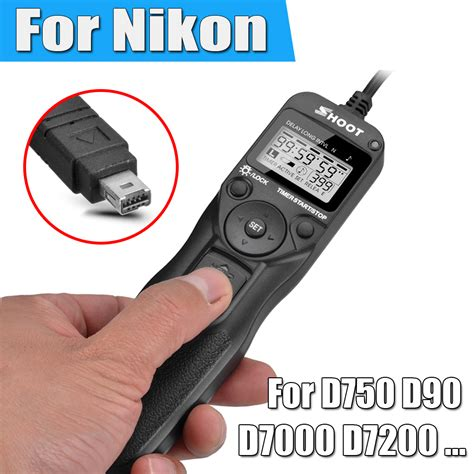 timer remote control shutter release cable intervalometer