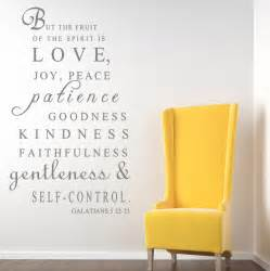Galatians 5 22 23 but the fruit reg religious wall decal quotes