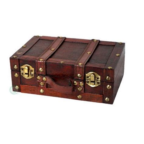 Decorative Suitcase by Quickway Imports Fashioned Small Suitcase Decorative
