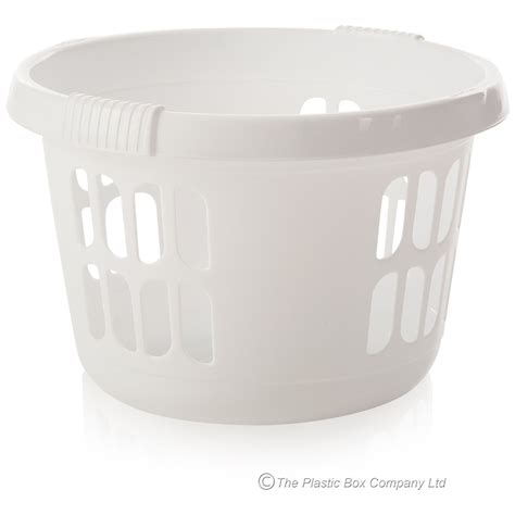 laundry plastic white plastic laundry basket