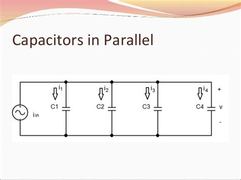 voltage across capacitor plates capacitors