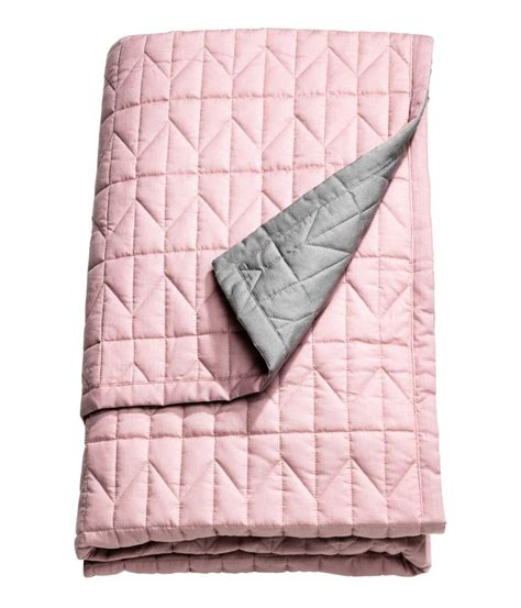 ikea decke rosa tagesdecke rosa grau amilton
