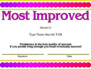 Most Improved Certificate Template by Certificate Template Reading Ebook Database