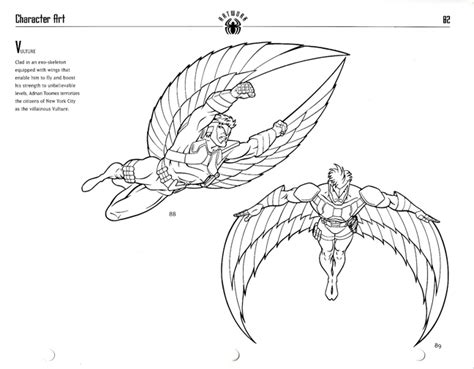 spiderman vulture coloring pages print coloring