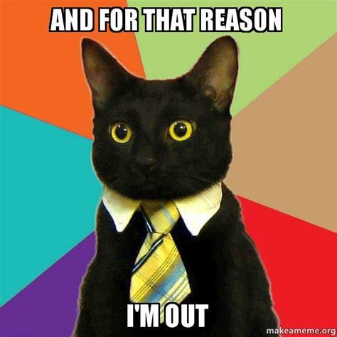 Buisness Cat Meme - business cat meme