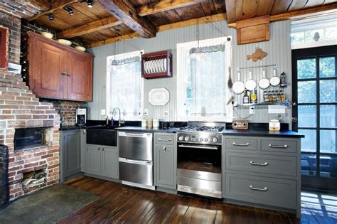 Contemporary Island Kitchen Soapstone Maintenance Is Fast Easy