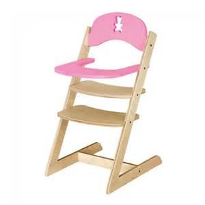 chaise haute nounours pour poup 233 e jbbois