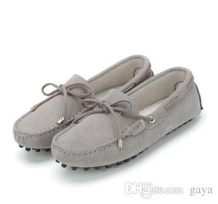 Sandal Wanita Sandal Santai Sandal Flat Casual Gaya Ele Termurah 2 2017 leather flat shoes casual loafers shoes flats moccasins driving shoes
