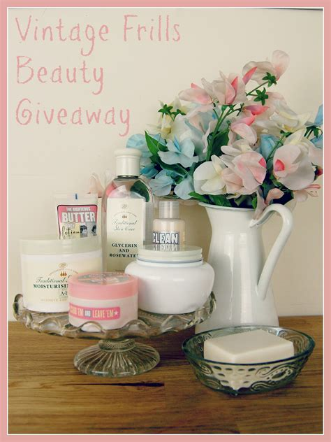 Beauty Giveaways 2014 - vintage frills beauty giveaway vintage frills