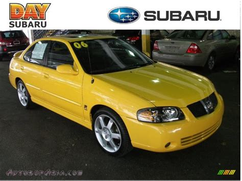 nissan sentra yellow 2006 nissan sentra se r spec v in sunburst yellow 576099