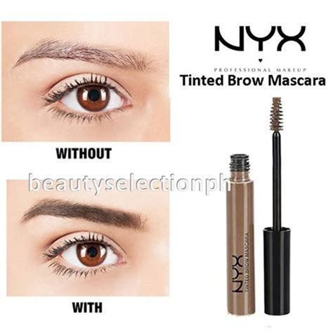 Nyx Eyebrow Gel Clear nyx eyebrow gel espresso swatch best eyebrow for you 2017