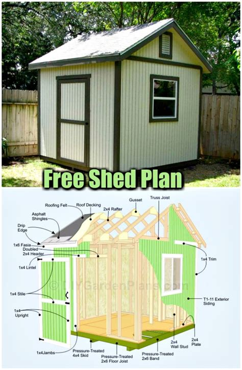 cheap  easy diy shed plans diy home decor
