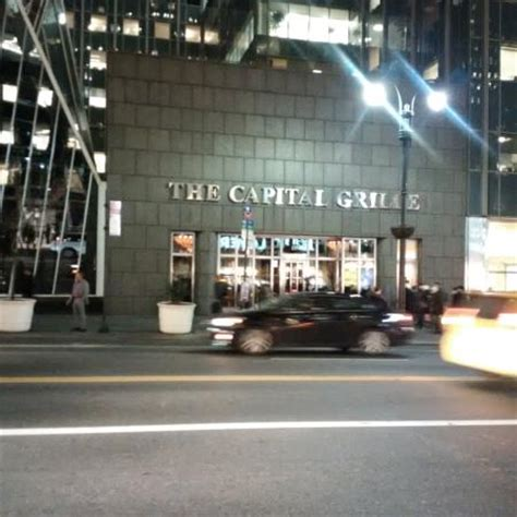chrysler center nyc ポーターハウス picture of the capital grille new york city