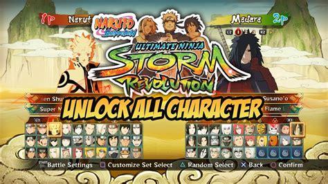 ps3 themes naruto revolution unlock all character naruto shippuden ultimate ninja