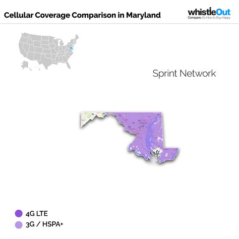 sprint 4g map best cell phone coverage in maryland whistleout