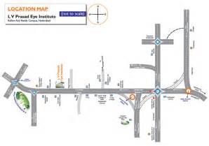 location map location map l v prasad eye institute
