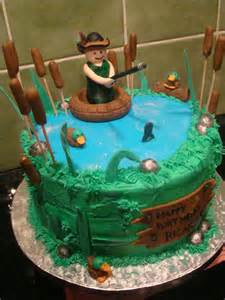 fishing rod and cake ideas and designs