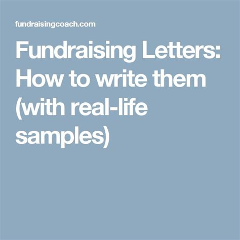 Creative Fundraising Letter Ideas 25 Unique Fundraising Letter Ideas On Nonprofit Fundraising Fundraising And Non