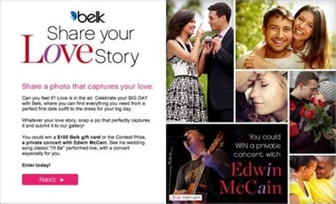 wedding song edwin mccain belk launches edwin mccain wedding contest 02 12 2014