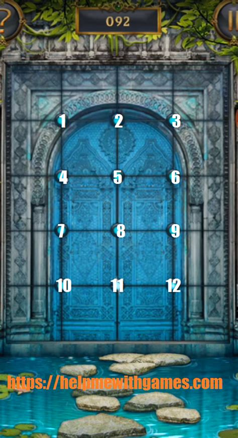 100 doors answers 100 doors incredible walkthrough level 92