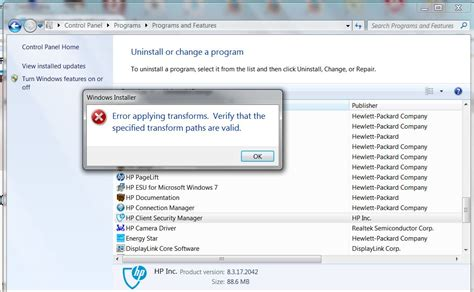 can not uninstall hp support assistant hp support forum quot hp update quot installed and now can t uninstall it windows