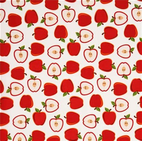 pattern for fabric apple white apple fruit fabric by robert kaufman from the usa