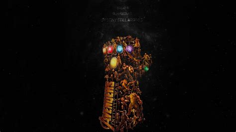 avengers infinity war latest poster full hd wallpaper