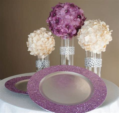 how to make simple diy flower arrangements glitter inc glitter charger and tables on pinterest
