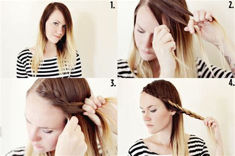 french braid bangs step by stoe how to french braid your bangs step by step with pictures