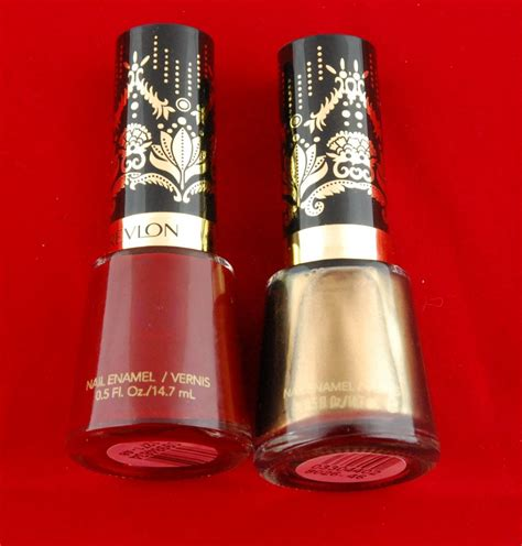 Lipstik Cameleon revlon marchesa edition and chameleon nail swatch and review