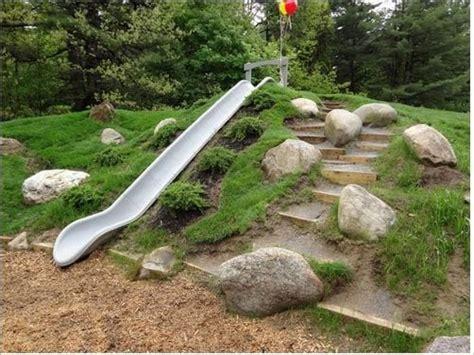 stunning landscape ideas   sloped yard