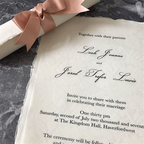 Scroll Invitations by How To Make Easy Scroll Invitations Imagine Diy
