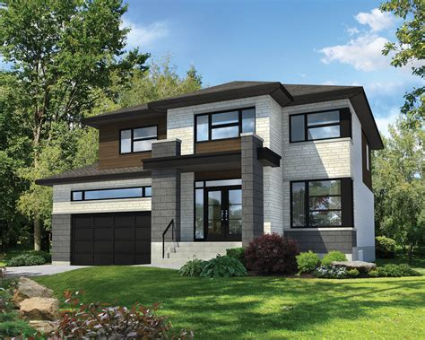 modern style home plans modern craftsman house plans style modern house plan