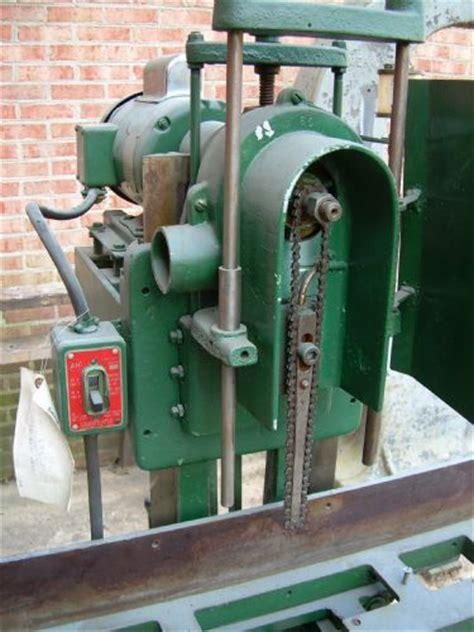 photo index powermatic machine  model  chain