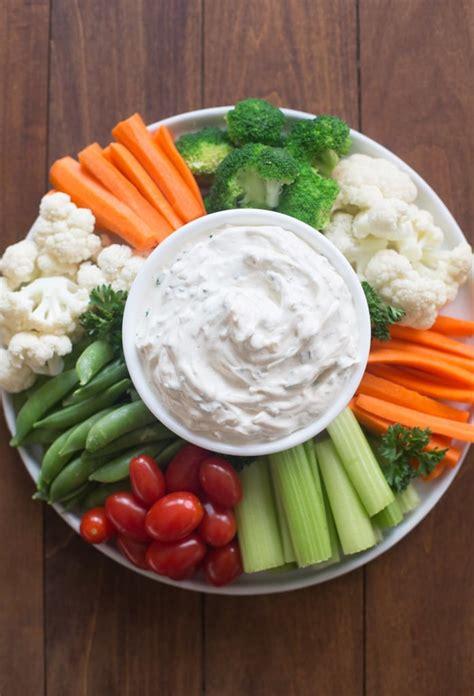 vegetables dip easy vegetable dip recipe tastes better from scratch