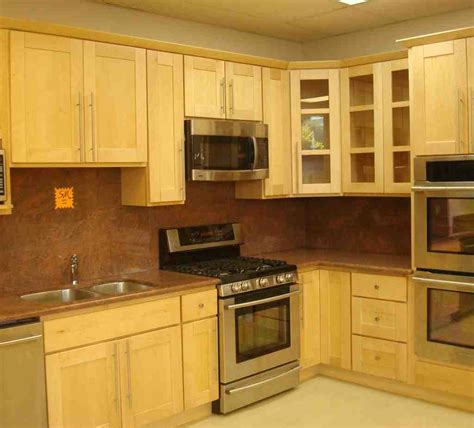 Maple Kitchen Cabinet Light Maple Cabinets Home Furniture Design